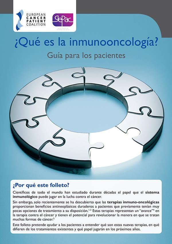 ¿Qué es la inmunooncología? Guía para los pacientes
